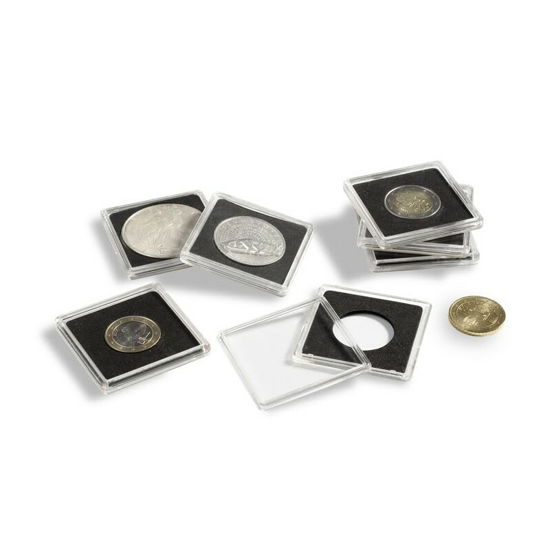 Quadrum Capsules Lighthouse x 10, To Suit all Australian Coin Sizes [Capsule Size: 24mm (AU 10c)]