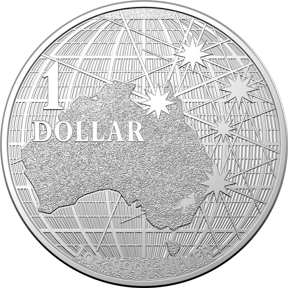 2020 $1 RAM Silver Bullion Beneath The Southern Skies 1 Oz Coin