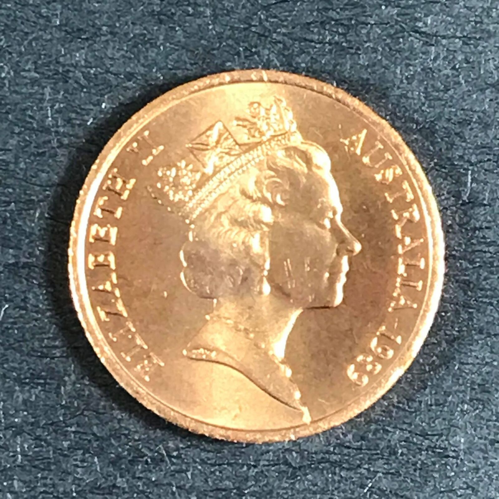 1 x 1989 Uncirculated 1c Royal Australian Mint