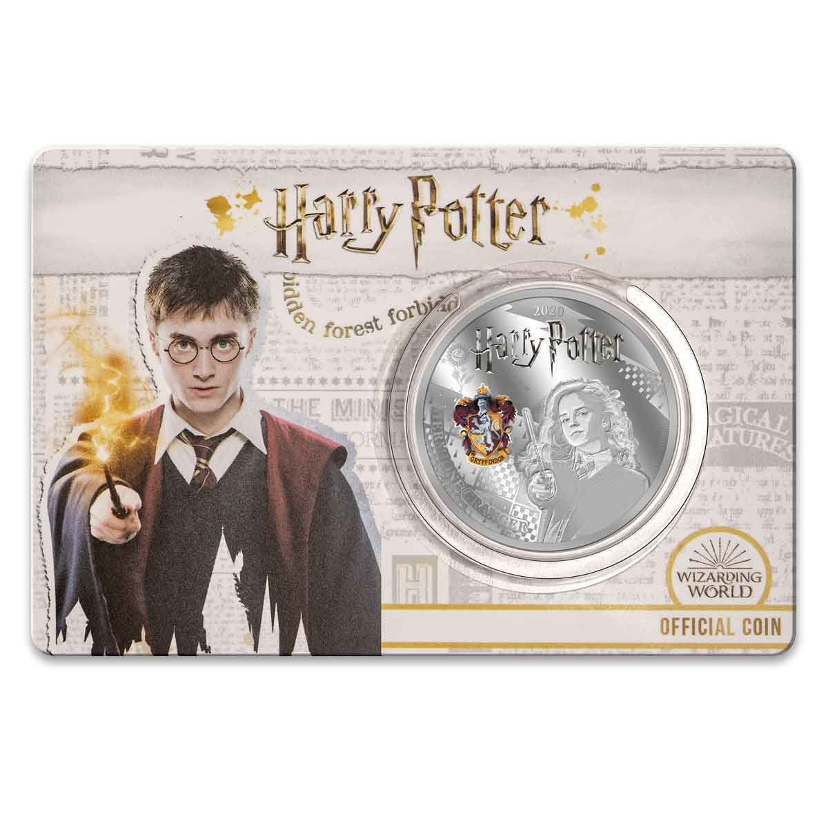 2020 Hermione Granger Half Dollar Silver Plated Prooflike Coin