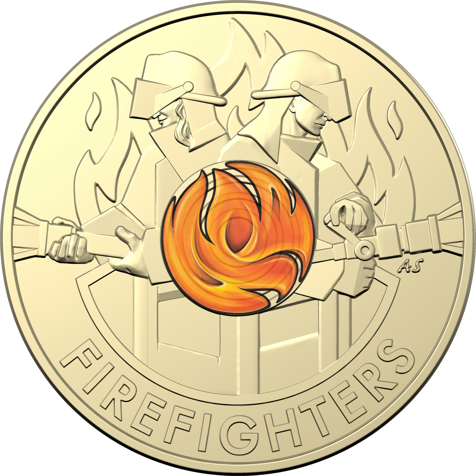 2020 $2 Firefighters Uncirculated Coin Pack