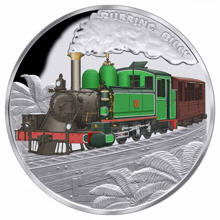 2020 $1 Puffing Billy 1oz Silver Proof Coin