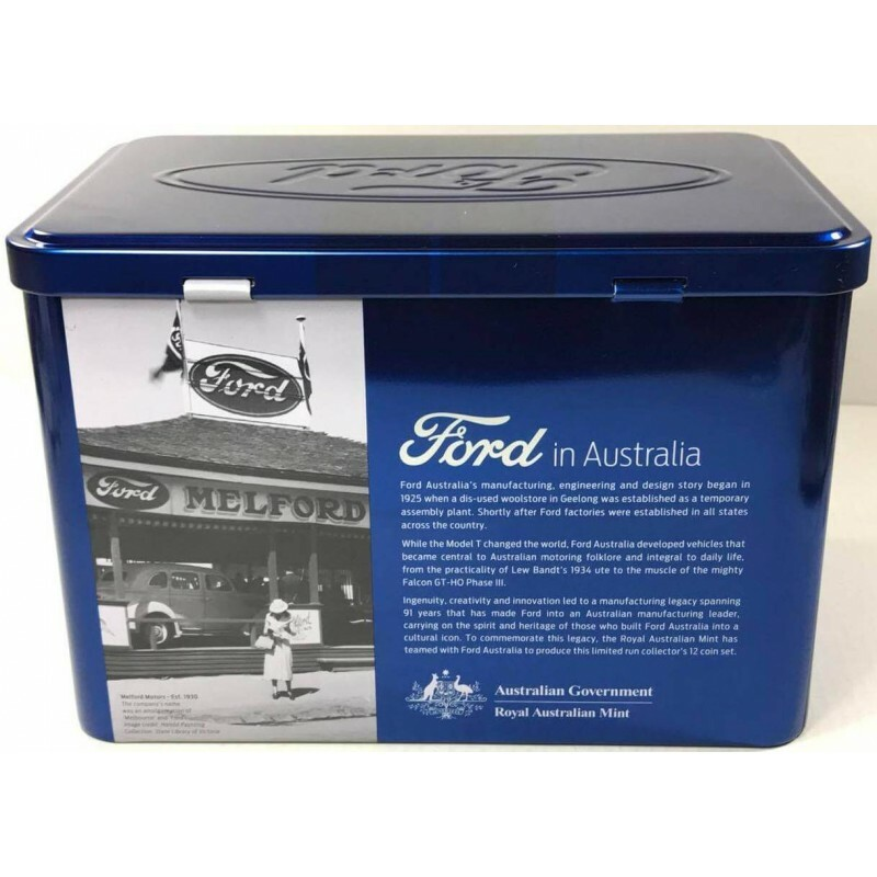 2017 FORD AUSTRALIAN CLASSICS  Collectable Tin Only