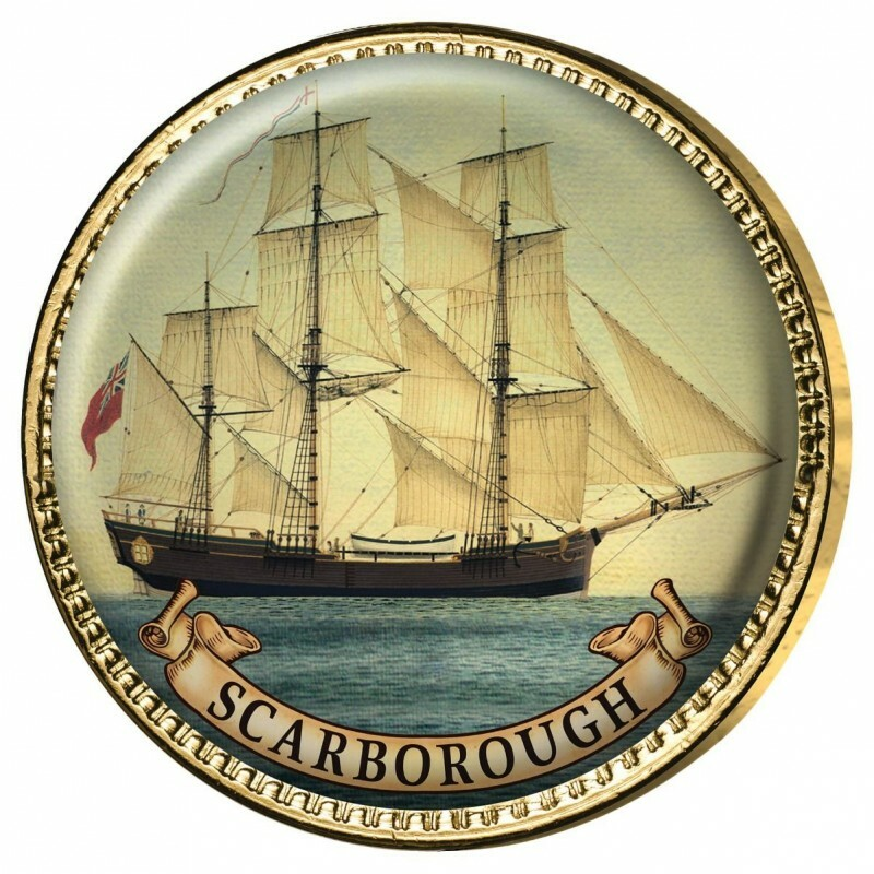 AUSTRALIA'S FIRST FLEET 11-COIN HALFPENNY & PENNY ENAMEL COLLECTION
