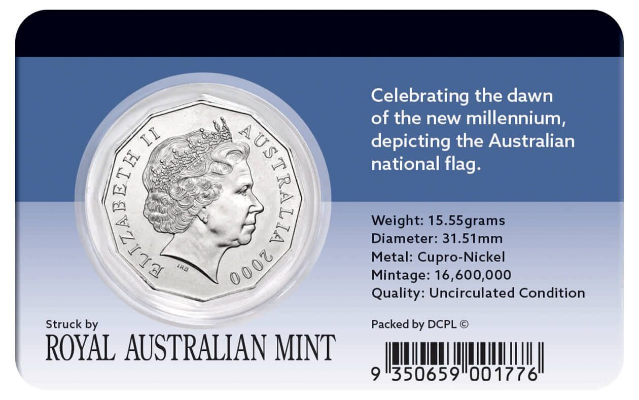 2000 50c Celebrating the Millennium Coin Pack