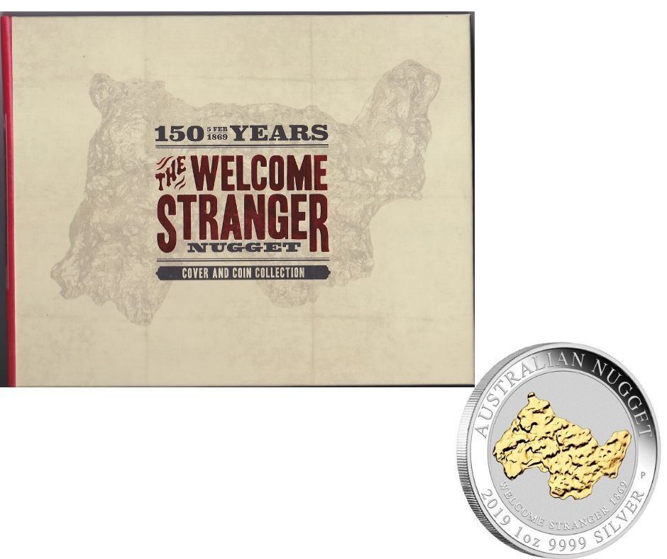 Welcome Stranger 2019 Stamp and Coin Cover