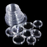 Lighthouse Clear Coin Capsules x 10 To Suit All Australian Coin Sizes