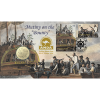 2019 $1 Mutiny on the Bounty PNC ANDA OVERPRINT