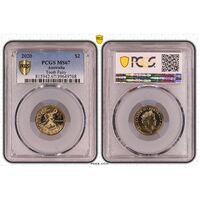 MS67 2020 $2 Tooth Fairy PCGS