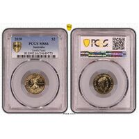MS66 2020 $2 Tooth Fairy PCGS