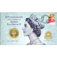 2018 65th Anniversary of the Coronation of Queen Elizabeth II (QEII) PNC ANDA