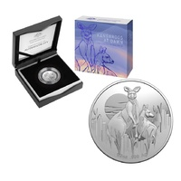 2020 $1 Silver Proof Coin - Kangaroo at Dawn