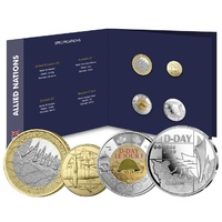 2019 Four Coin Set - 75th Anniversary Of D-Day