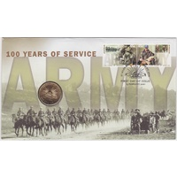 2001 $1 Centenary of Australian Army PNC