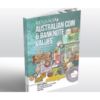 Soft Cover Australian Coin & Banknote Values Book - Renniks 30th Edition