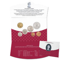 Queen Elizabeth II Arnold Machin Portrait 1966-1984 7 Coin Set