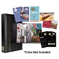 VST Balmoral Album for Large Carded RAM Coins
