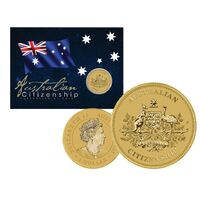 2021 $1 Australian Citizenship Coin in Card