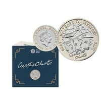 2020 £2 Agatha Christie Brilliant Uncirculated Coin
