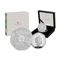 2021 50p Decimal Day Silver Proof Coin