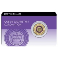 2013 $2 Purple QEII Coronation Uncirculated Coin Pack