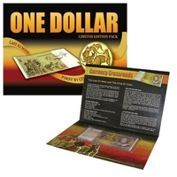 $1 Last Note & First Coin Changeover Pack Unc