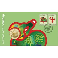 2009 $1 Chinese Year Of The Ox PNC