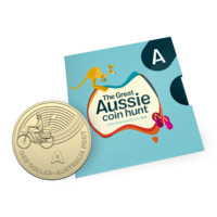 2019 $1 Letter 'A' for Australia Post Uncirculated