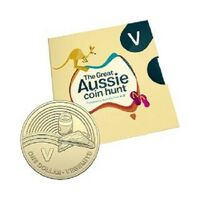 2019 $1 Letter 'V' for Vegemite Uncirculated