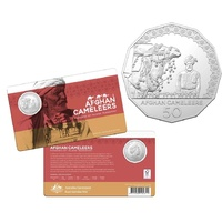 2020 50c Afghan Cameleers - Uncirculated Coin