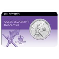 2000 50c Royal Visit Coin Pack