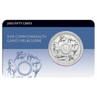 2005 50c XVIII Commonwealth Games Melbourne Coin Pack