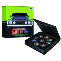 Ford GT Falcons Enamel Penny Collection