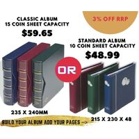 Classic Sizes Build Your Own Album