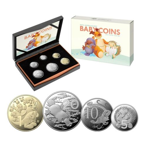 2021 Baby Coins 6 Coin Year Proof Set
