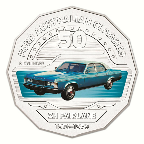 2017 50c ZH Fairlane FORD AUSTRALIAN CLASSICS Collection UNC
