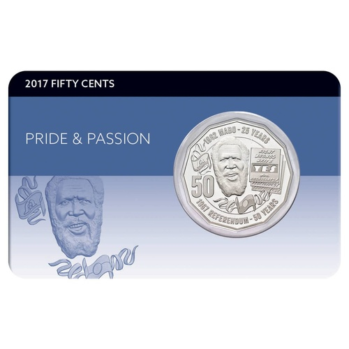 2017 50c Pride and Passion Eddie Mabo Coin Pack